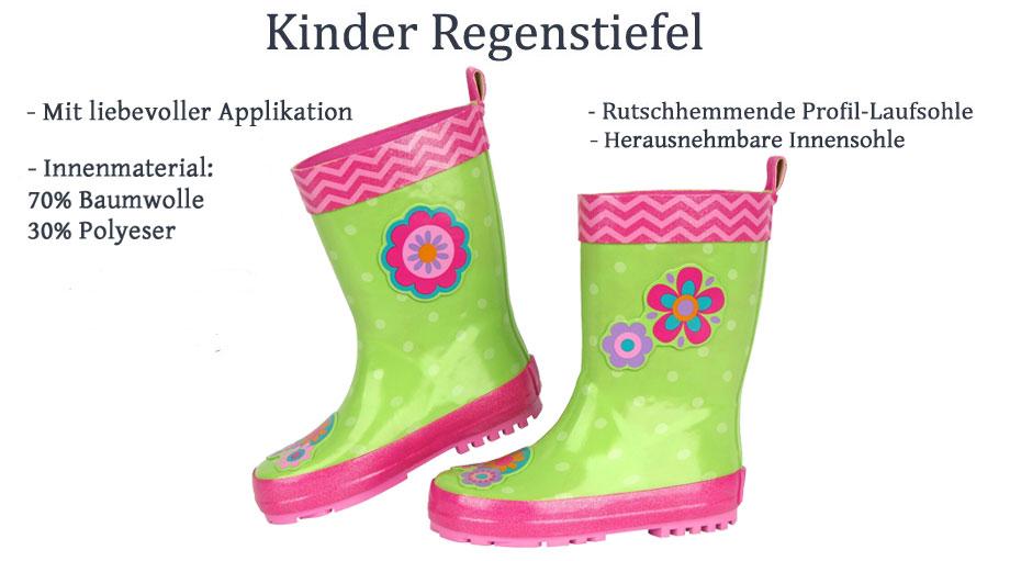WALKX Kinder Gummistiefel Gefüttert Regenstiefel Schmutz und