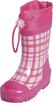 "Sale: Kinder Gummistiefel ""Karo"" in Rosa"