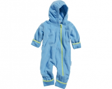 Fleece Overall Baby in Hellblau von Playshoes
