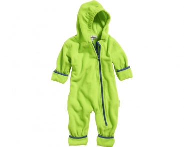 Fleece Overall Baby in Hellgrün von Playshoes