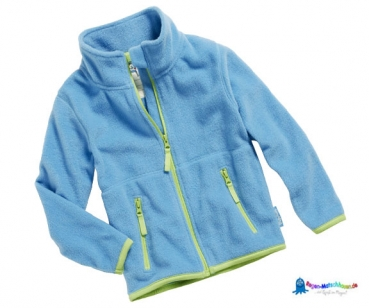 Fleecejacke Kinder in Hellblau von Playshoes
