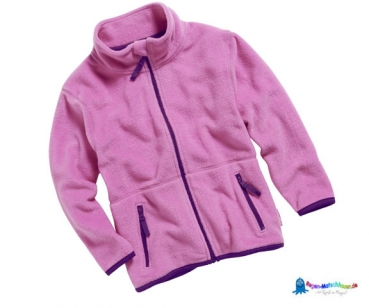 Fleecejacke Kinder in Rosa von Playshoes