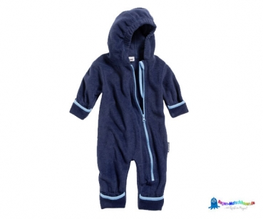 Fleece Overall Baby in Marine von Playshoes