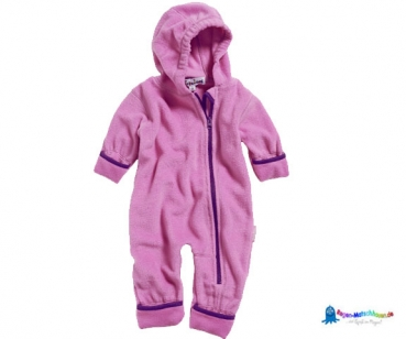 Fleece Overall Baby in Pink von Playshoes