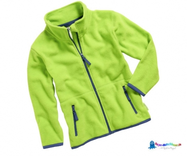 Fleecejacke Baby in Hellgrün von Playshoes