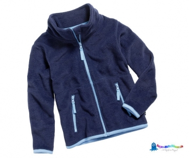 Fleecejacke Baby in Marineblau von Playshoes